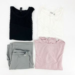 Medium Workout Bundle Lot of 4 Size Medium